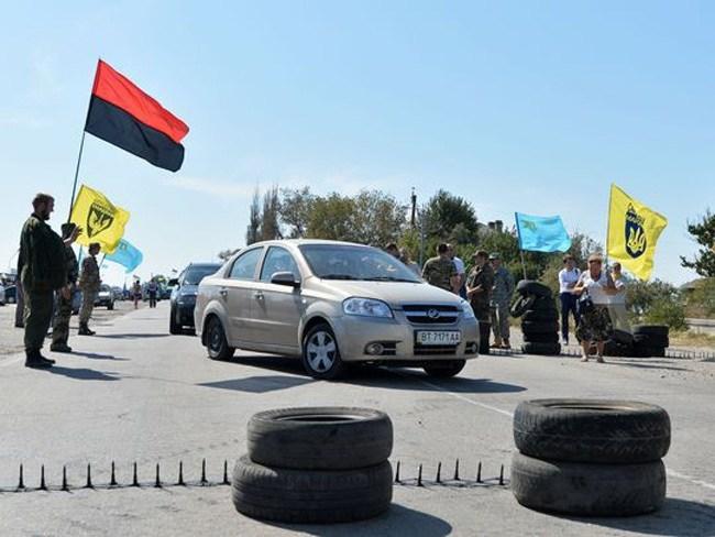 Crimean Tatar Blockade