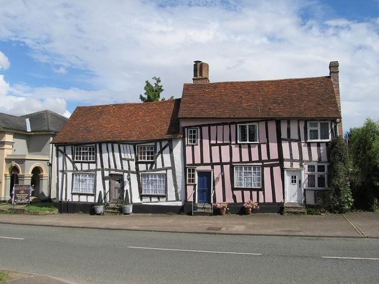 Crooked Houses Lavenham Suffolk