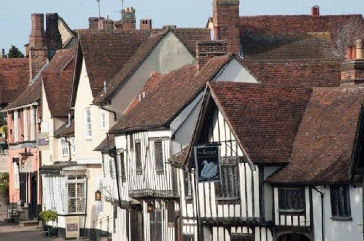 Crooked Houses Row Lavenham
