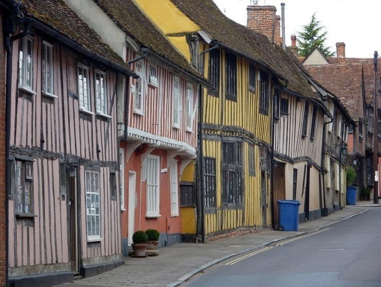 Crooked Houses Street Lavenham