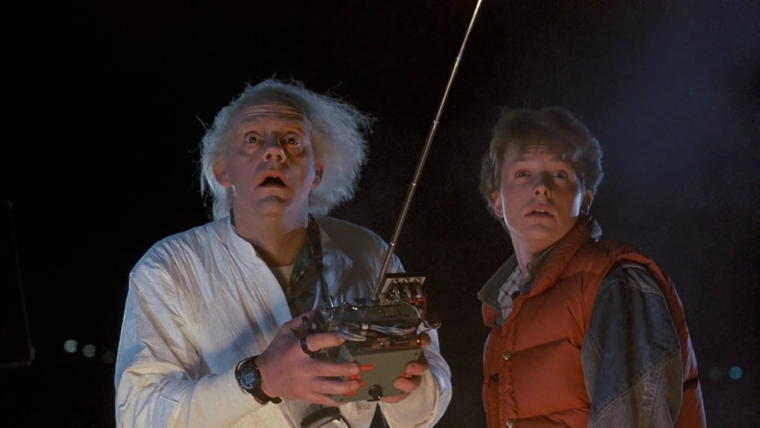 Doc Brown Marty Mcfly