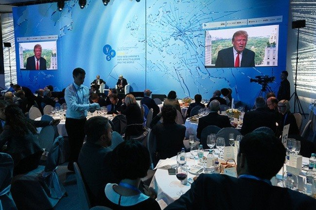 Donald Trump Ukraine Conference