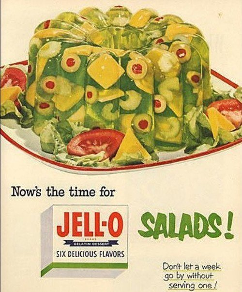 Failed Products Jello Salads