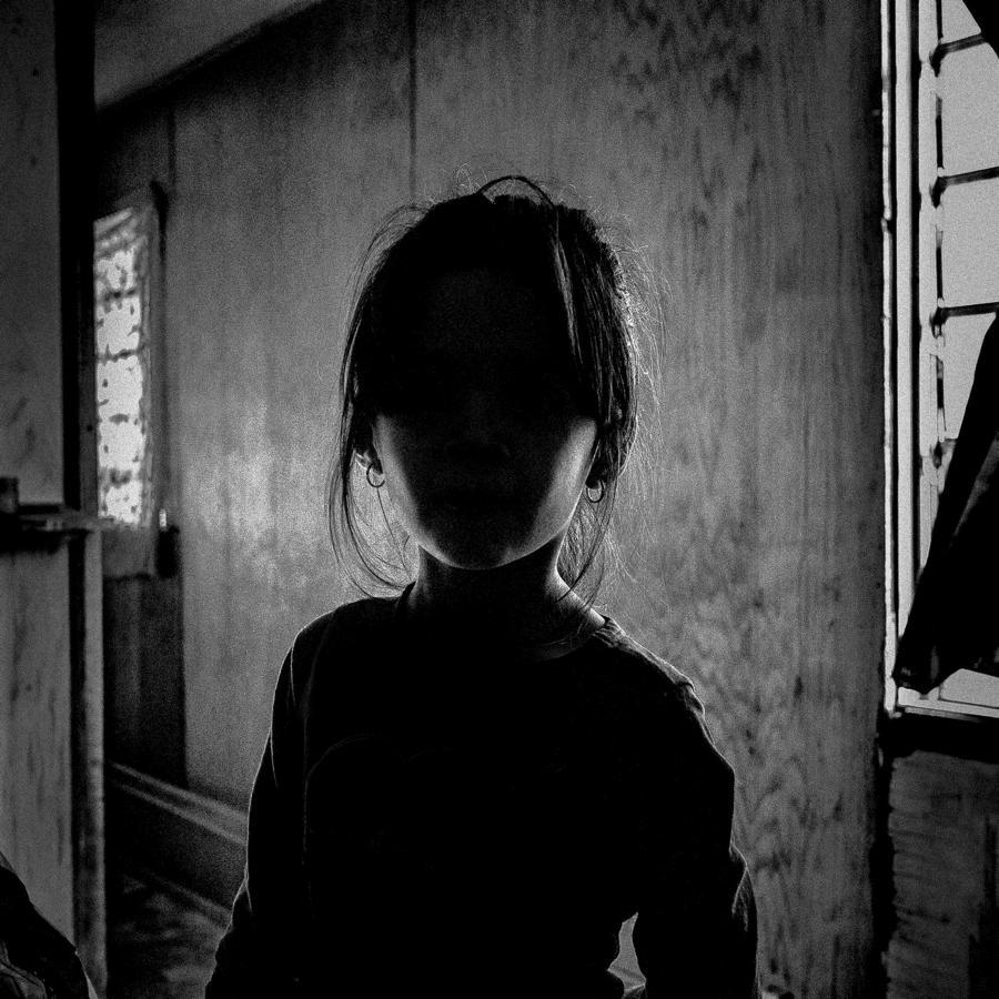 Girl Shadow Covering Face