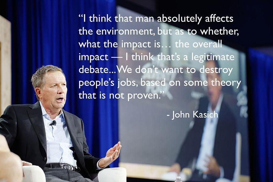 Gop Debates Climate Change Kasich