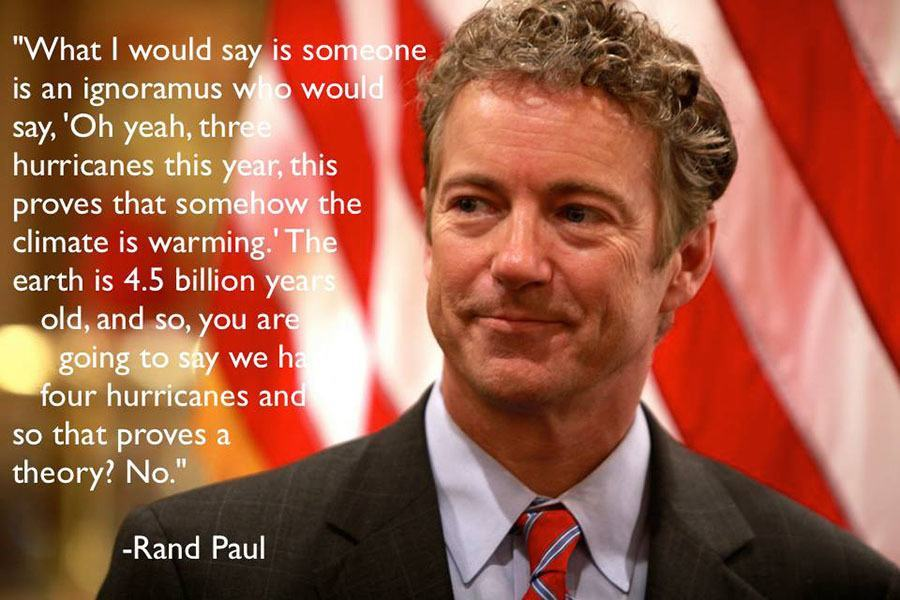 Gop Debates Climate Change Rand Paul