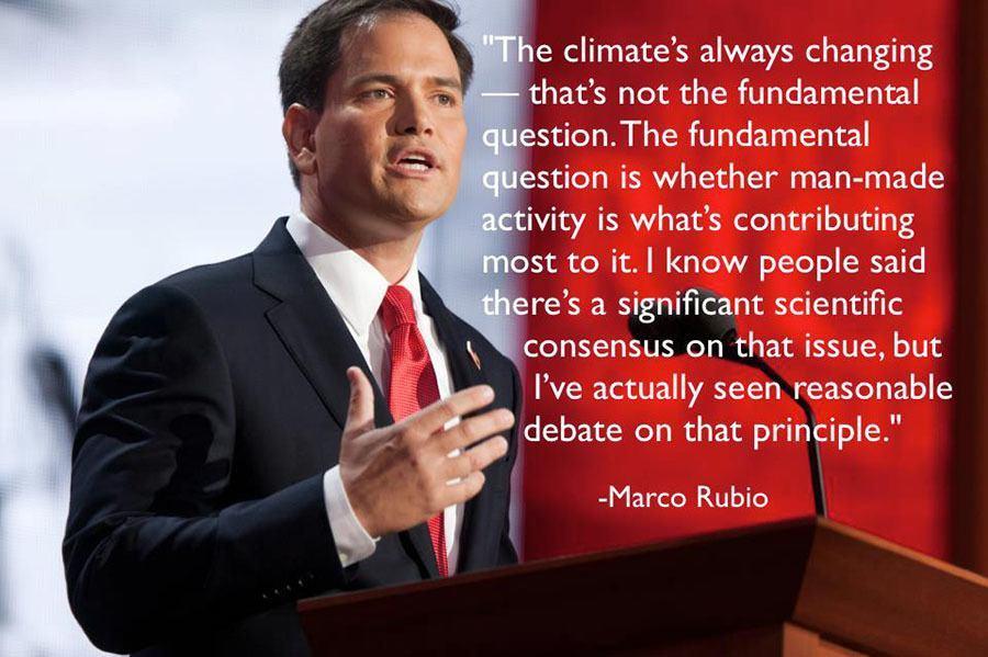 Gop Debates Climate Change Rubio