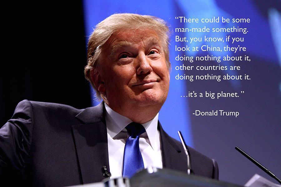 Gop Debates Climate Change Trump Smile