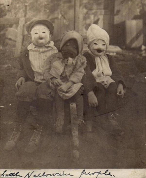 Halloween Kids Old Fashioned
