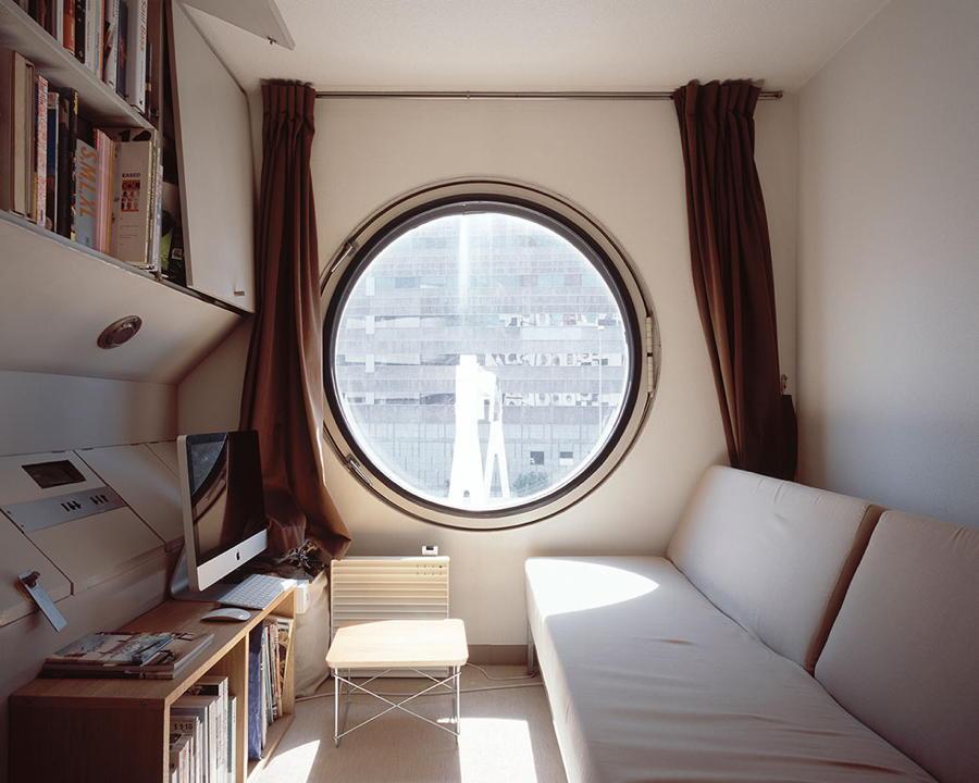 Inside Japanese Cube House