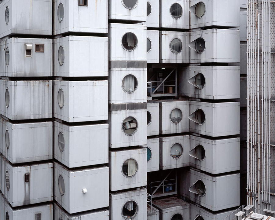 Japan Tiny Cube Houses