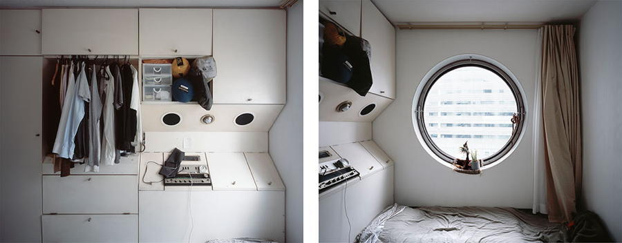 Japanese Cube House Cabinets