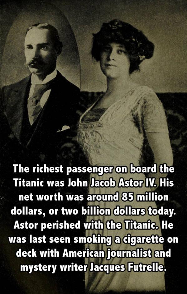 John Astor Wife Titanic