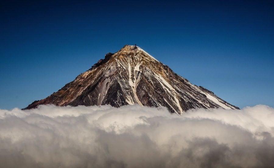 Kamchatka Russia Koryaksky Volcano