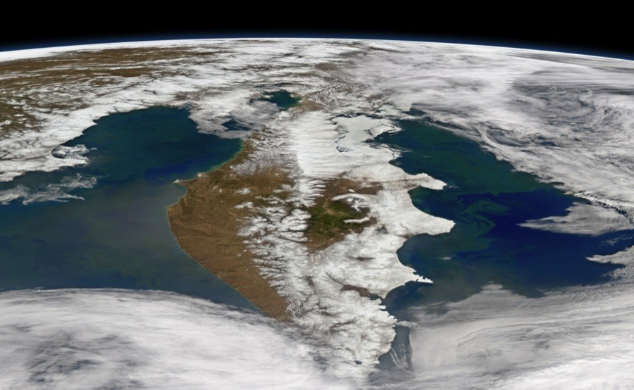 Kamchatka From Space