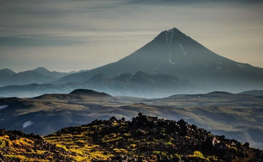 Vilychinsky Volcano In Kamchatka Russia