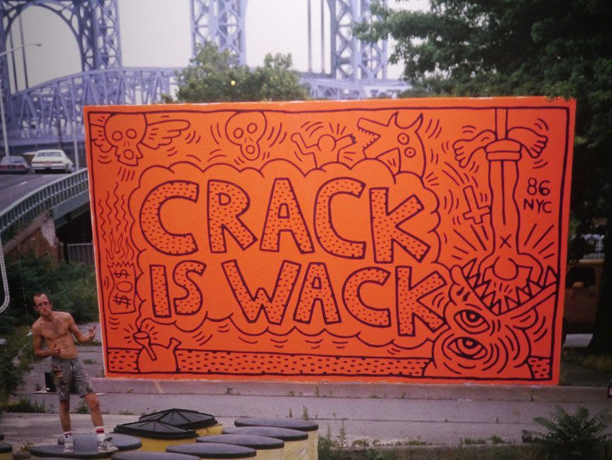 the story behind the original 39 crack is wack 39 mural