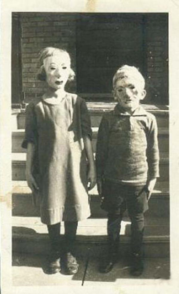 Kids Old Halloween Masks