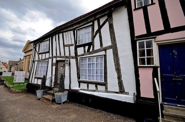 Lavenham Crooked Houses Street