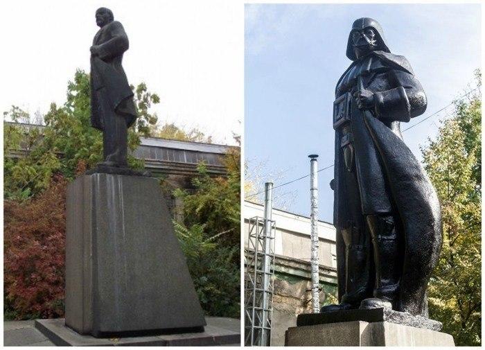 Lenin Darth Vader Statue