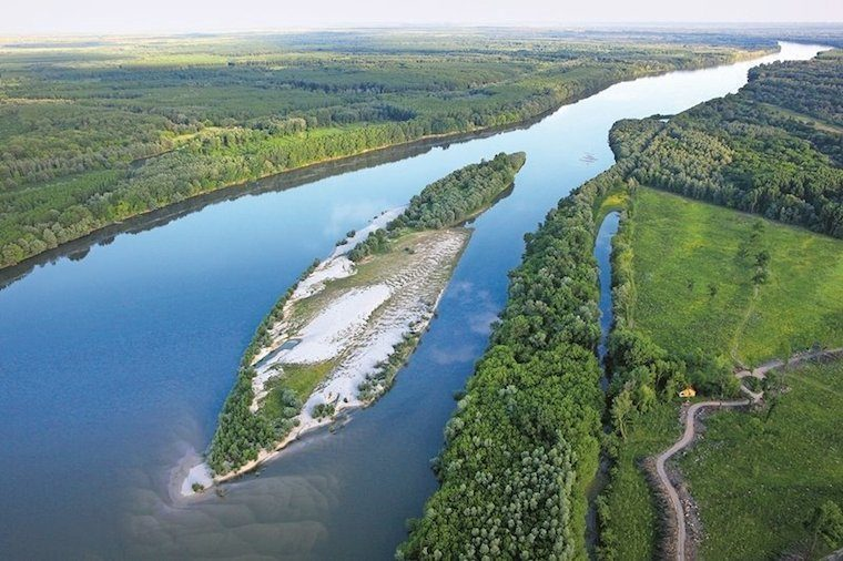 Aerial Photograph Of Liberland