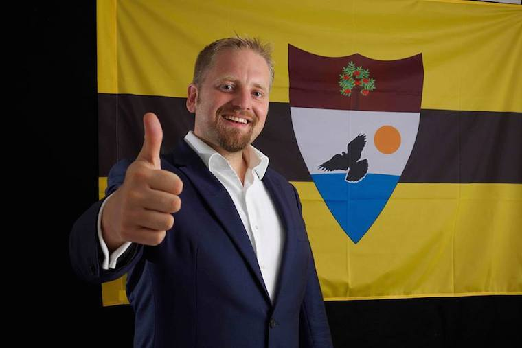 Liberland Country President Flag