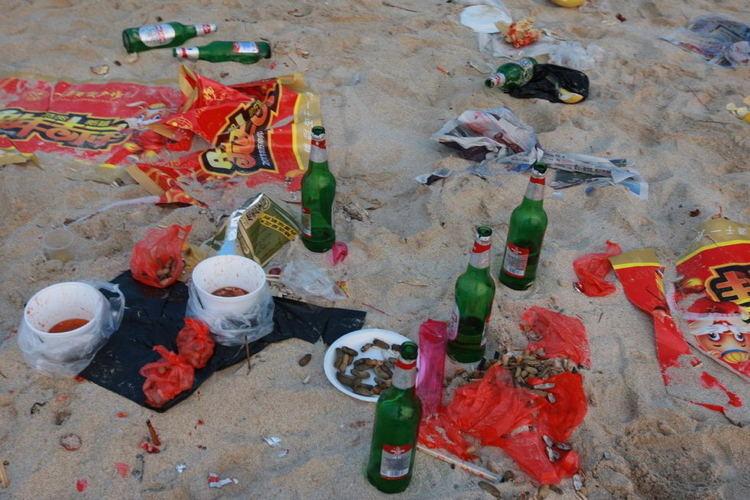 Littering In China Bottles