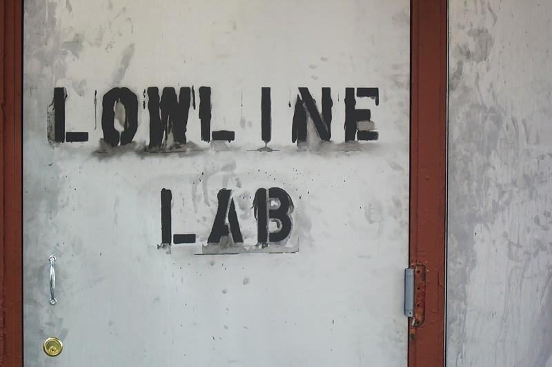 Lowline Lab Door