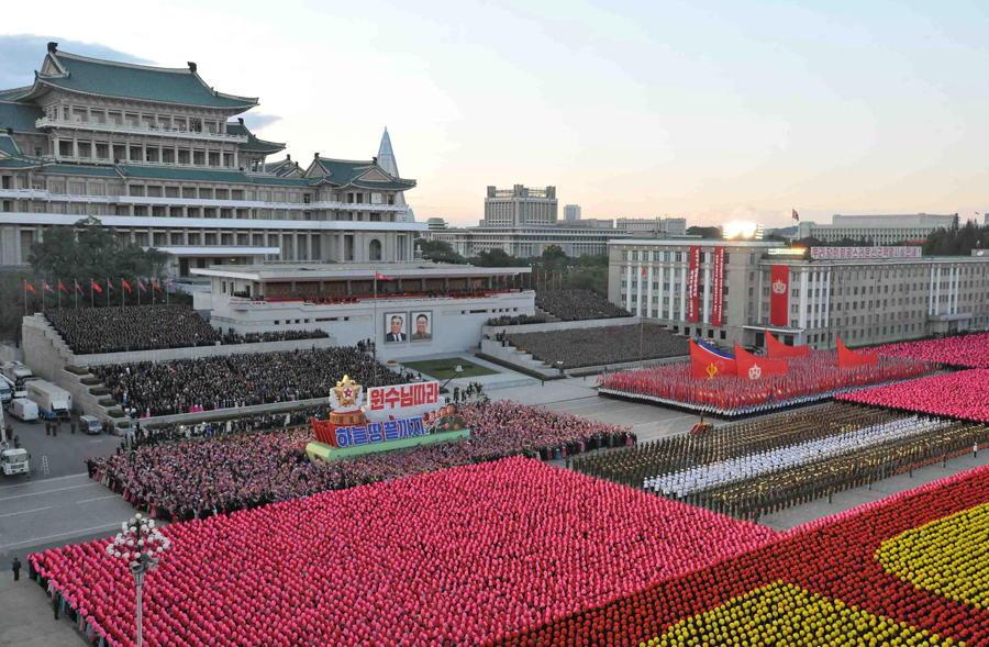 North Korea Color Coordination