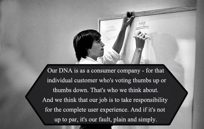 On Being A Consumer Company