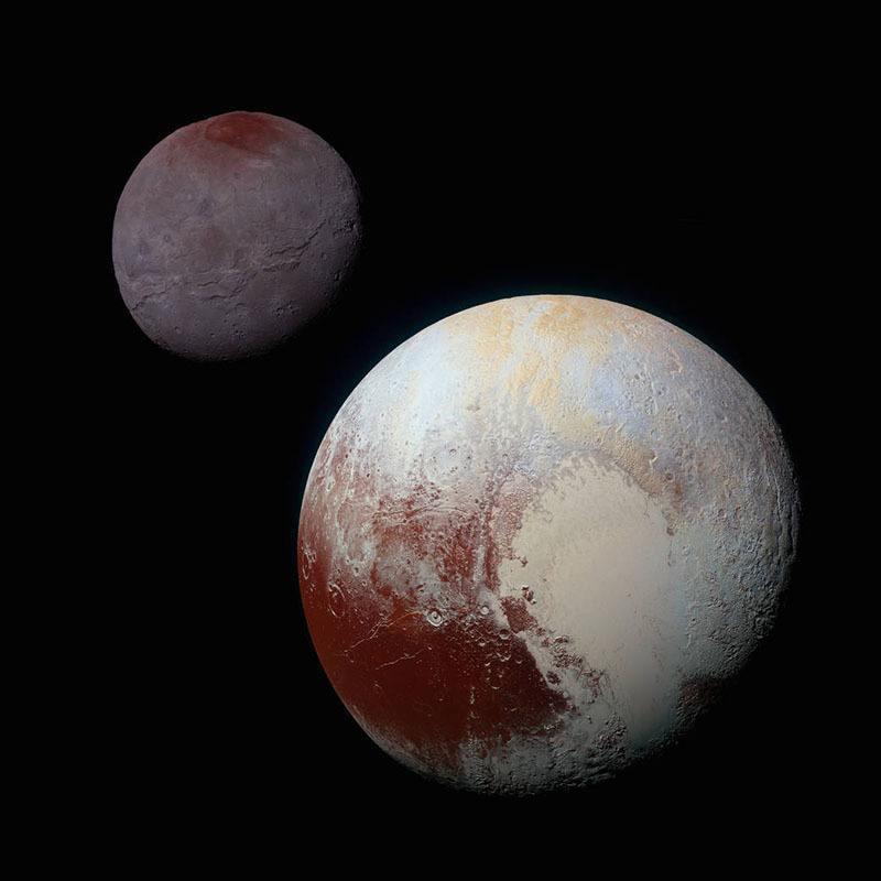 Pluto Images Charon Pluto