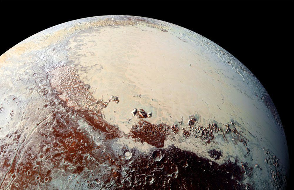 Pluto Images Heart