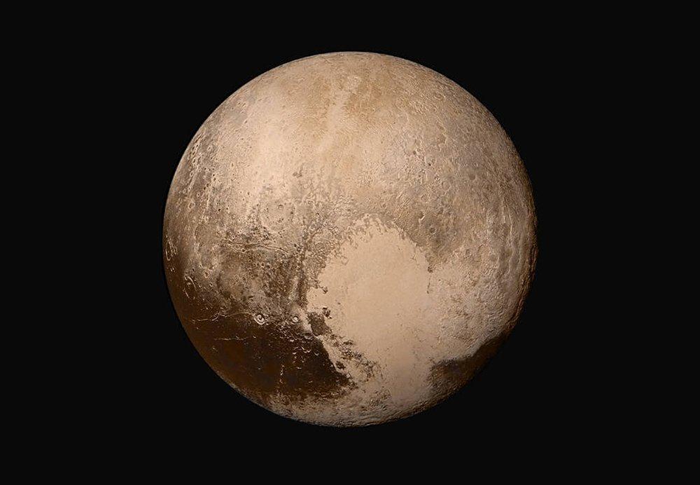 Pluto Images True Color
