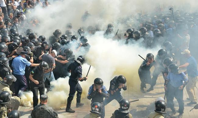 Protests Smoke