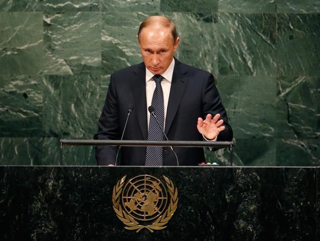 Putin Un Speech