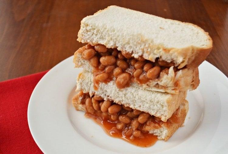 Sandwich History Baked Bean