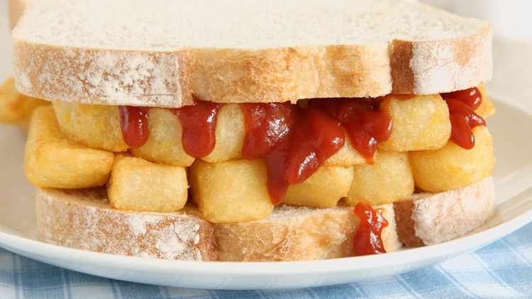 sandwich history chip butty