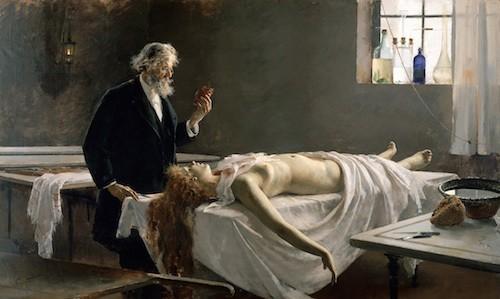 Semmelweis Gloveless Autopsy