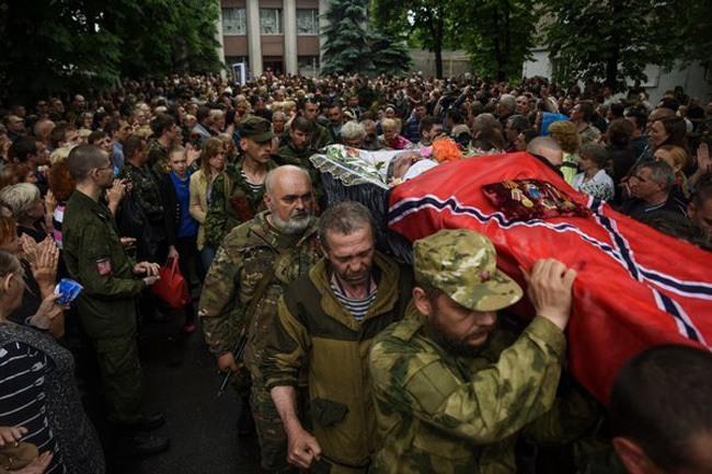 Sergei Mogovoi Funeral