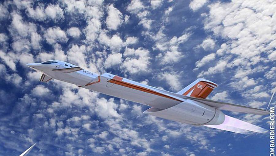 Skreemr Concept Plane