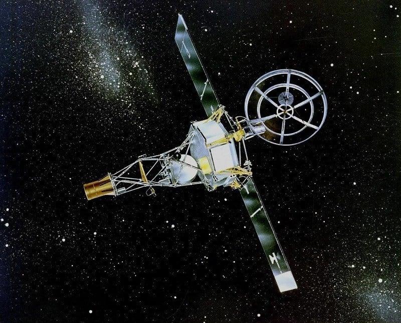 Space Colonies Mariner 2 For Venus
