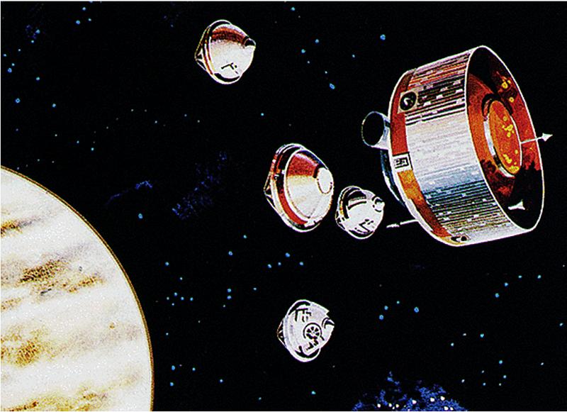 Space Colonies Pioneer Venus Probes