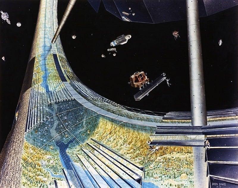 Space Colonies Torus Construction