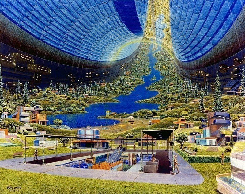 Space Colonies Torus Interior