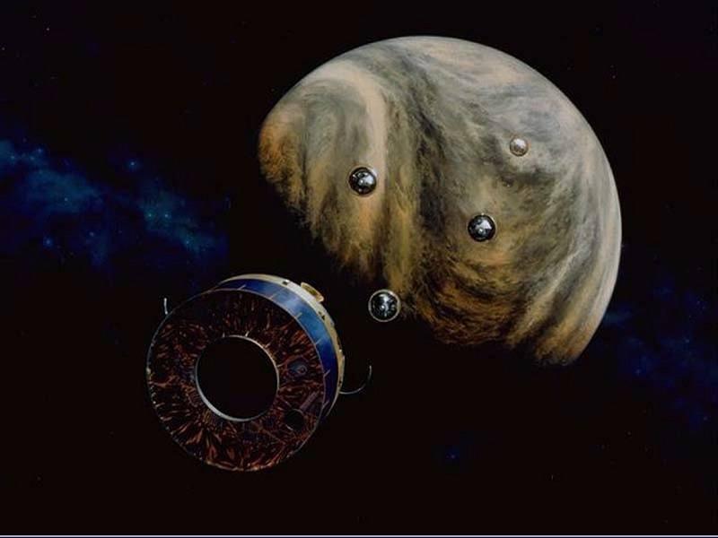 Space Colonies Venus Pioneer Probe