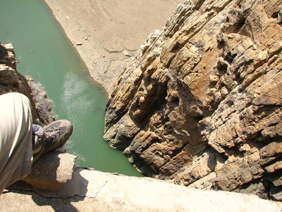 Spanish Cliff Foot Edge