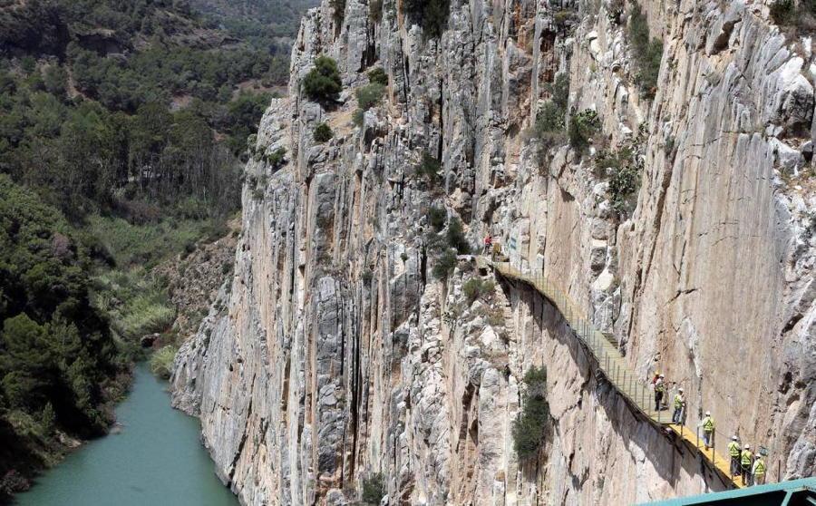 Spanish Cliff Walkway