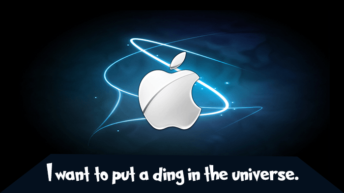 Steve Job Ding In The Universe