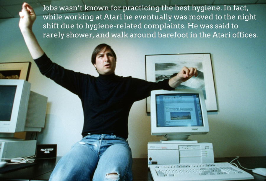 Steve Jobs Facts Hygiene