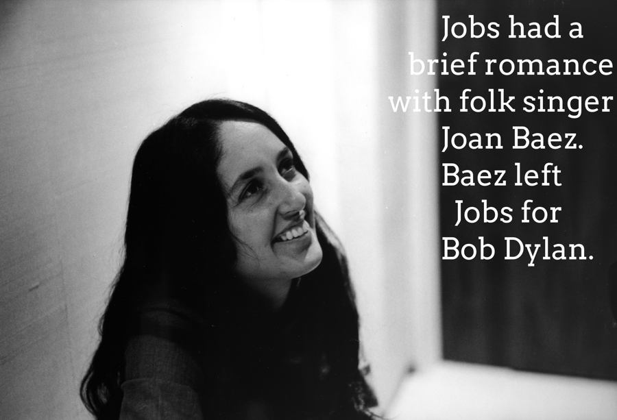 Steve Jobs Facts Joan Baez